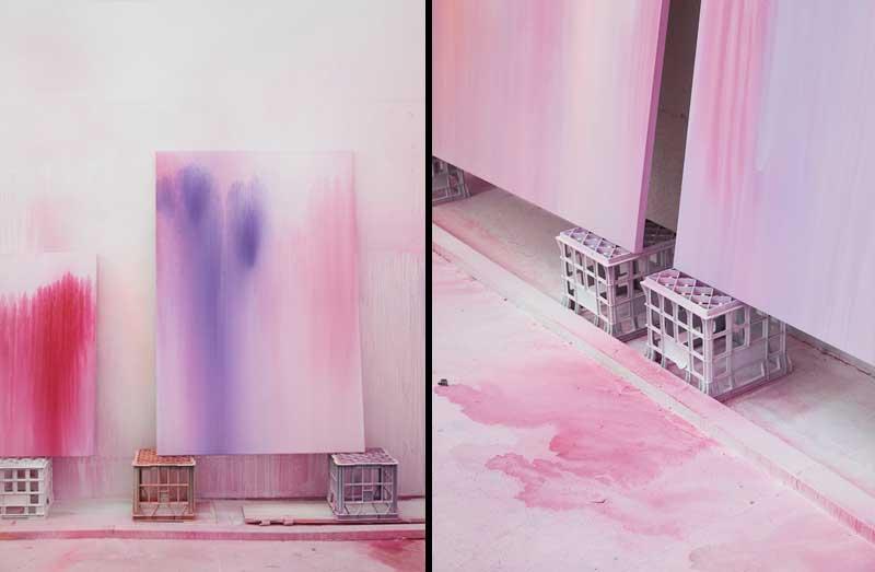 Pinturas tamaño XL de Ash Keating