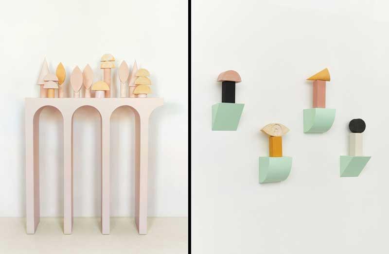 Esculturas apiladas de Sean Meilak