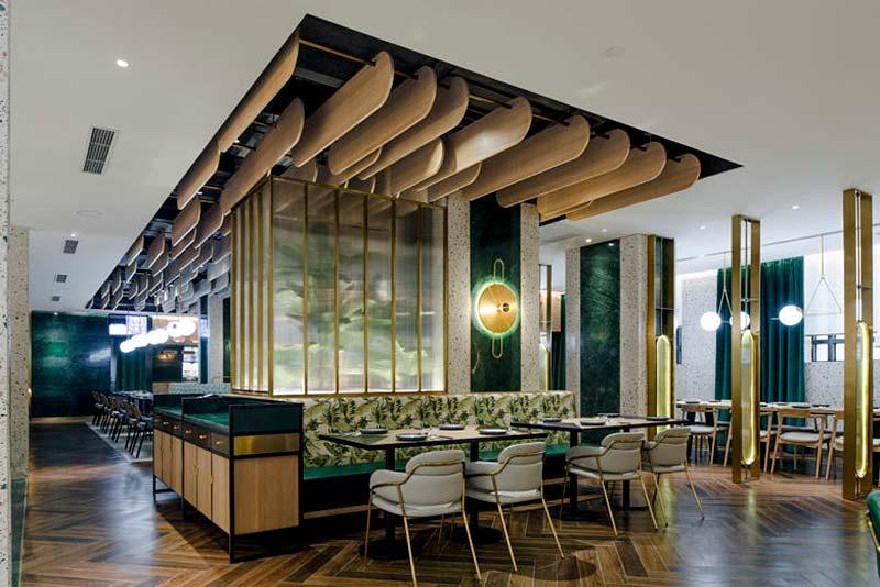 Restaurante de diseño Phuket Paradise