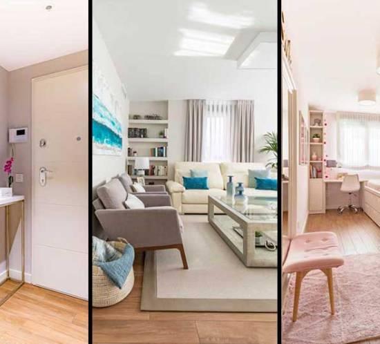 Amueblamiento y decoración de un piso familiar