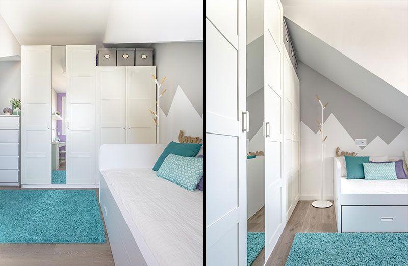 Dormitorio infantil decorado en azul