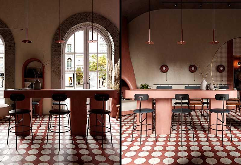 Restaurante moderno Buha