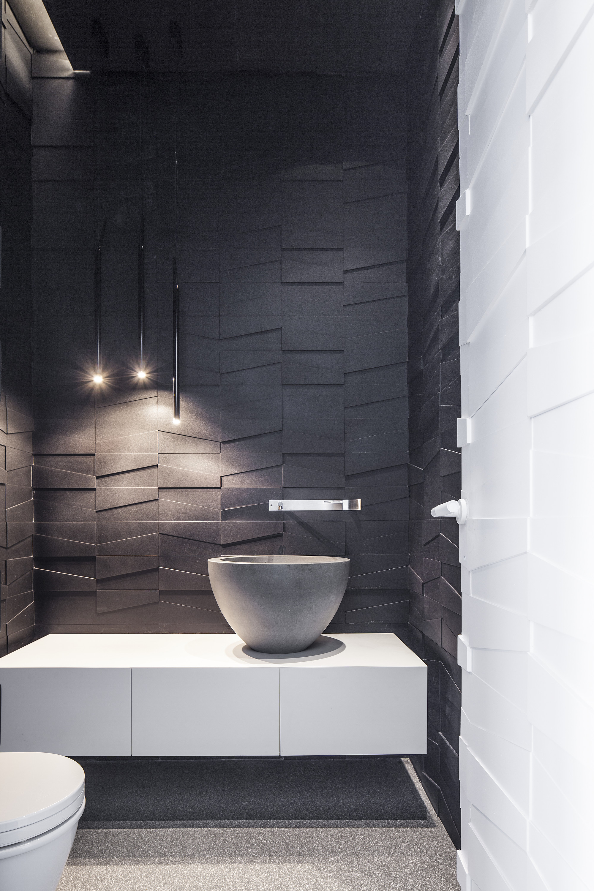 Luxe Penthouse Toilet Interieur Inrichting