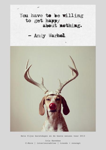 Hele fijne kerstdagen en de beste wensen voor 2013