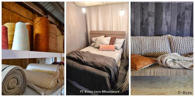 VT Wonen Barn Woonbeurs 2013 interieur trends  2013 2014 texture textile  By C-More