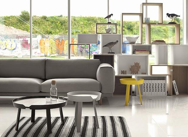 REST Sofa | AROUND coffee table | Muuto at C-More interieuradvies.blogspot.nl