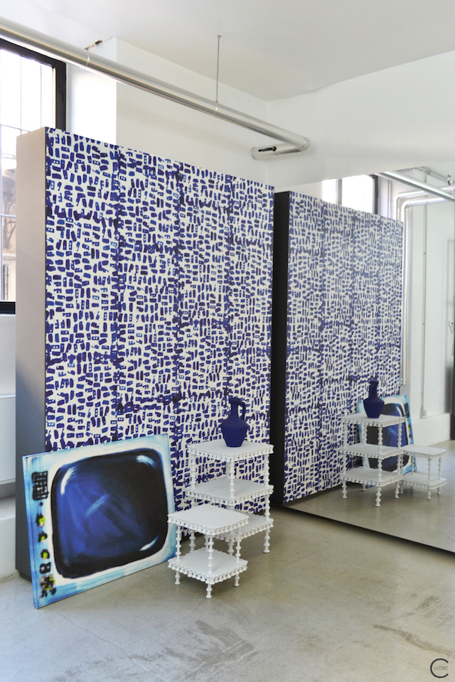 new Design wallpaper by award winning NLXL | Paola Navone | Milan Design Week 2015