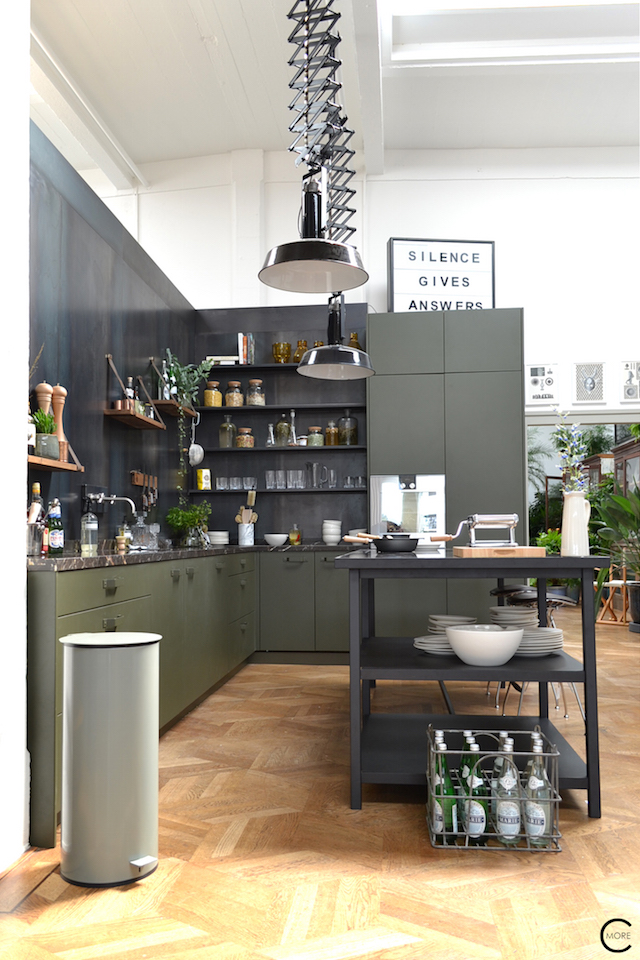 The Loft Amsterdam The Playing Circle August 2015 kitchen marble green inspiration styling