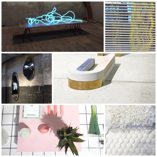 DDW15 Dutch Design Week 2015 collage by C-More interior blog | L-R | Pieke Bergmans at The Kazerne > Sanne Schuurman at The Design Academy > Lidewij Edelkoort expo at The Kazerne > Nel Verbeke at the Design Academy > Daniela Trelja at The Design Academy > Bori Kovacs at the Design Academy