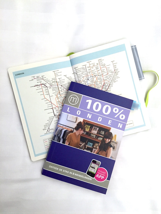 London 100 procent city guide and journal by C-More 3