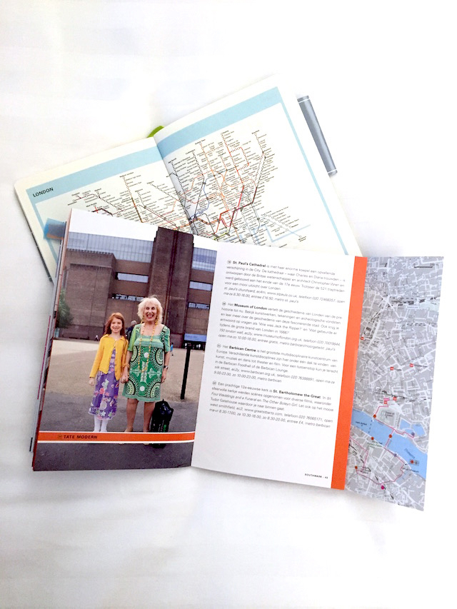 London 100 procent city guide and journal by C-More 5