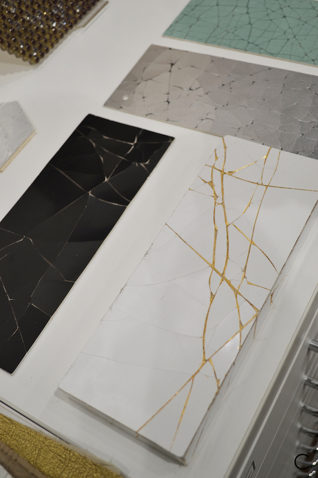 Black Gold White broken surface | Material Heaven | Fameed Hkalique London | visited with Modenus #LondonBlogtour #Designhounds | Luxury interior trend
