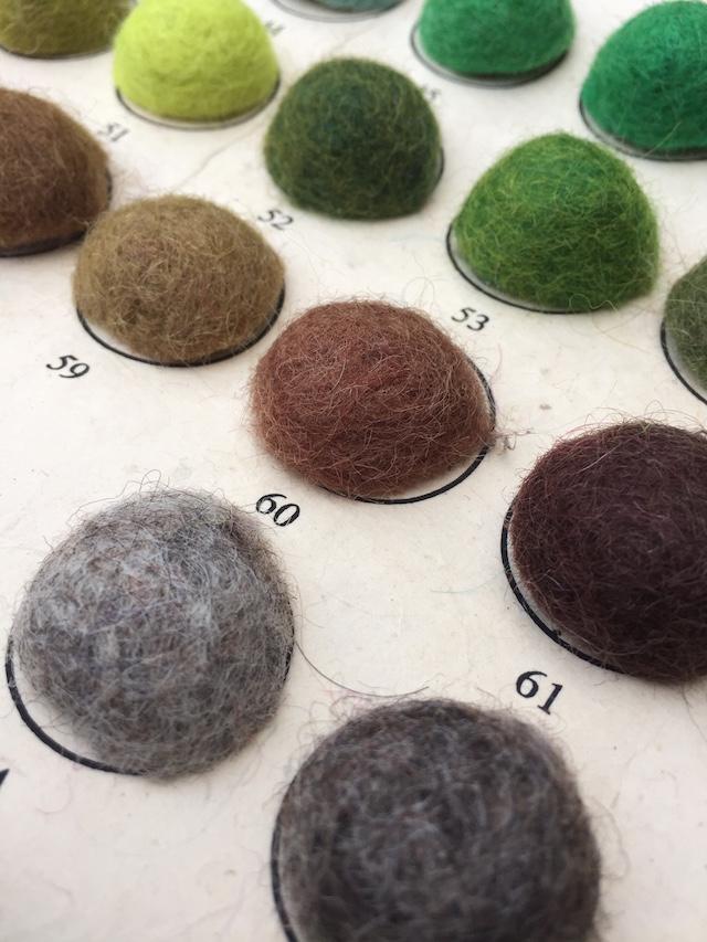 Felt rugs by Sukhi Stylish + minimal | color card