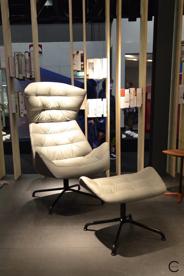 Thonet IMM Cologne 2016 | 808 lounge chair | picture by C-More