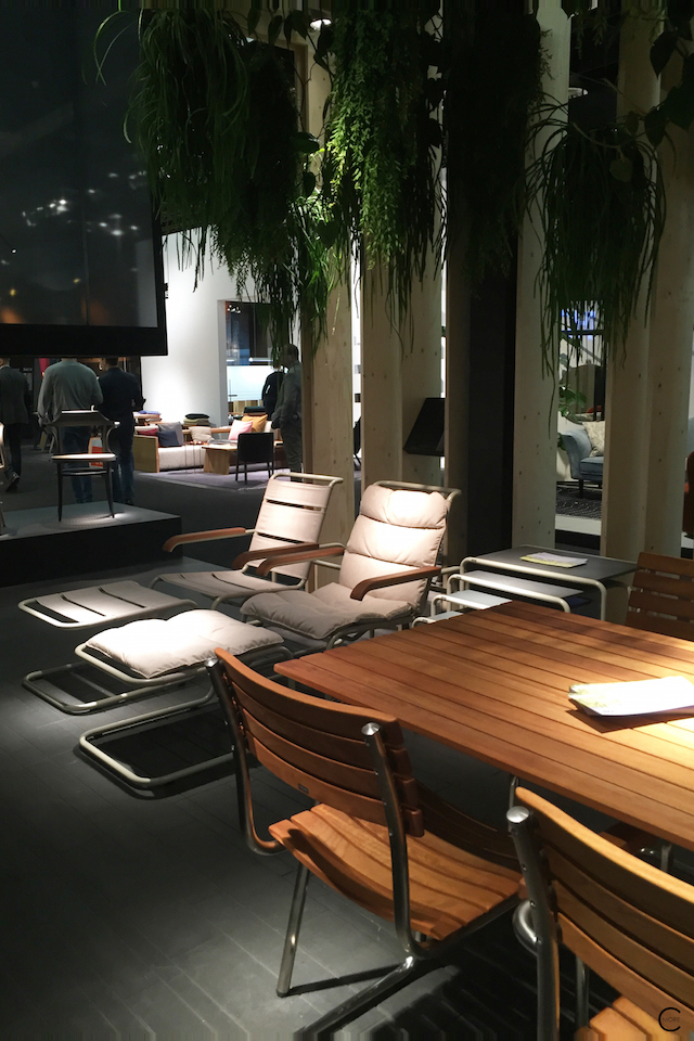Thonet IMM Cologne 2016| outdoor collection | picture by C-More