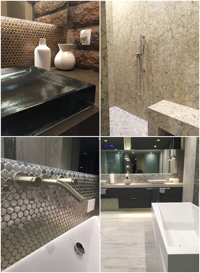 Bathroom | The New American Home Las vegas blogtourkbis 2016 |#Designhounds | pictures by C-More