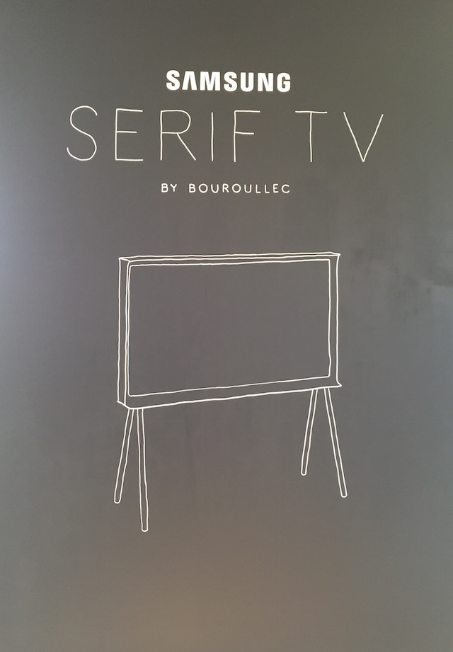 Serif TV | Design by Bouroullec | Samsung | Vitra | Photo © by C-More