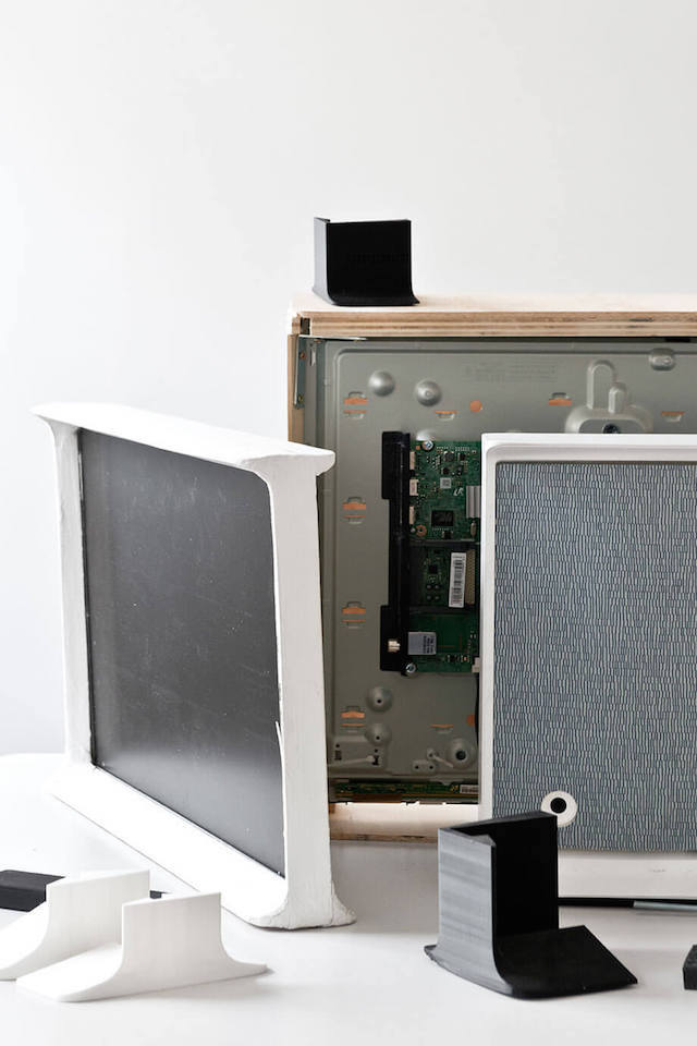 Serif TV | Design by Bouroullec | Samsung | Vitra | The Design process | Photo via Samsung