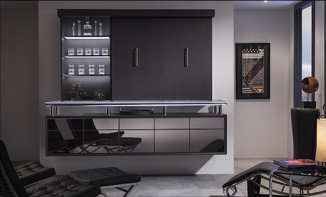 Vanguard Bar | Wood-Mode | Fine Custom Cabinetry