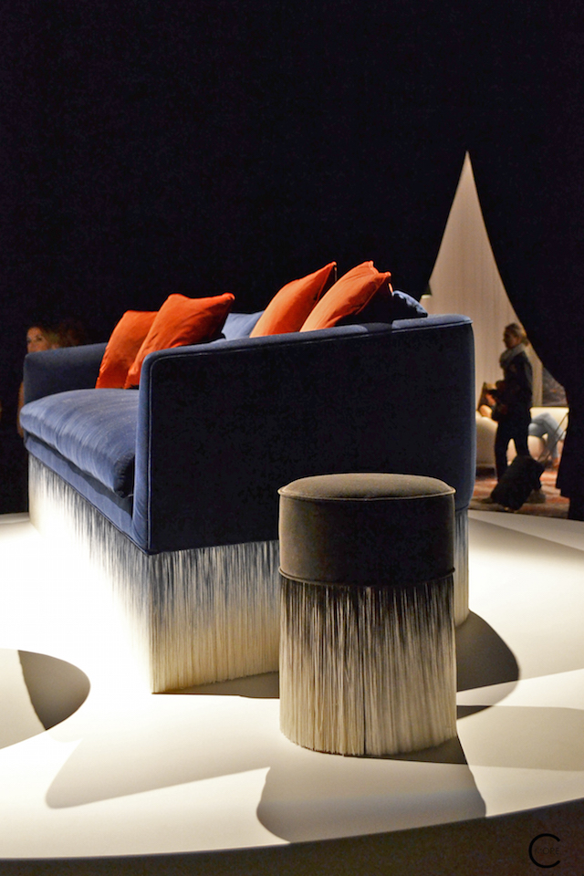 Amami Sofa | Lorenza Bozzoli | In the spotlight | Moooi Milan Designweek 2016 by C-More