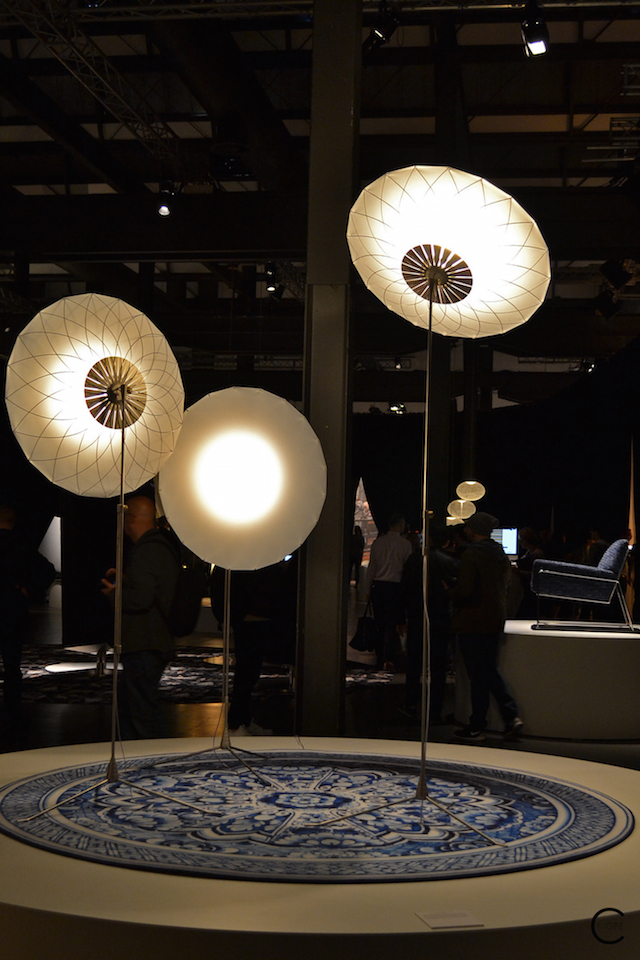 Floor lighting | Filigree by Rick Tegelaar | In the spotlight | Moooi Milan Designweek 2016 by C-More