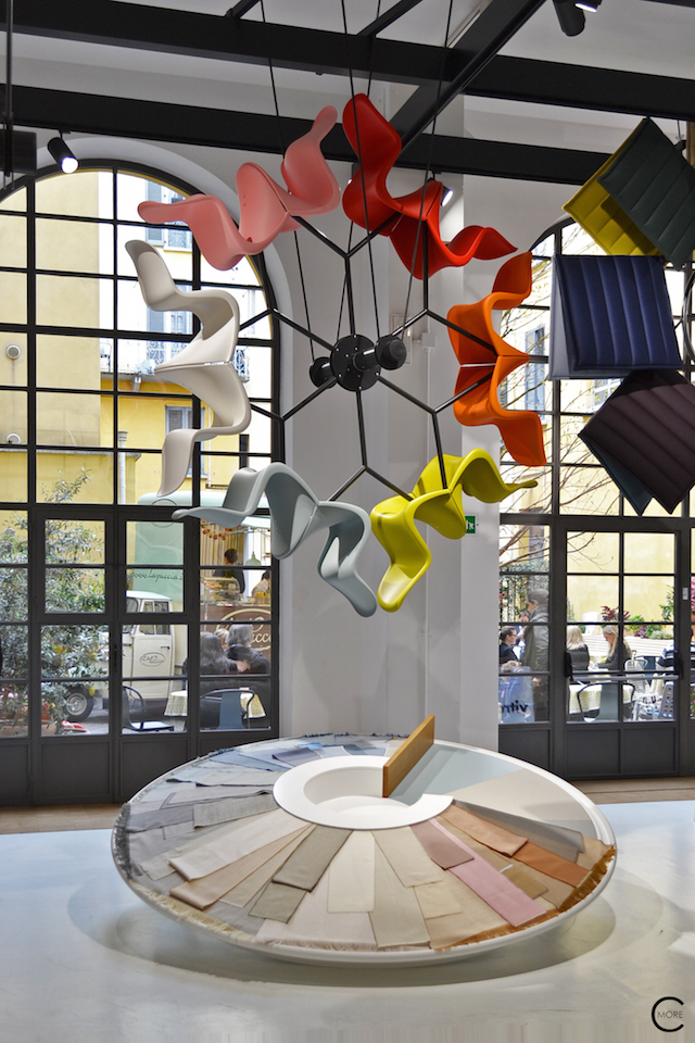Color Wheel | Casa Vitra Milan 2016 | Expo colors by Hella Jongerius | by C-More