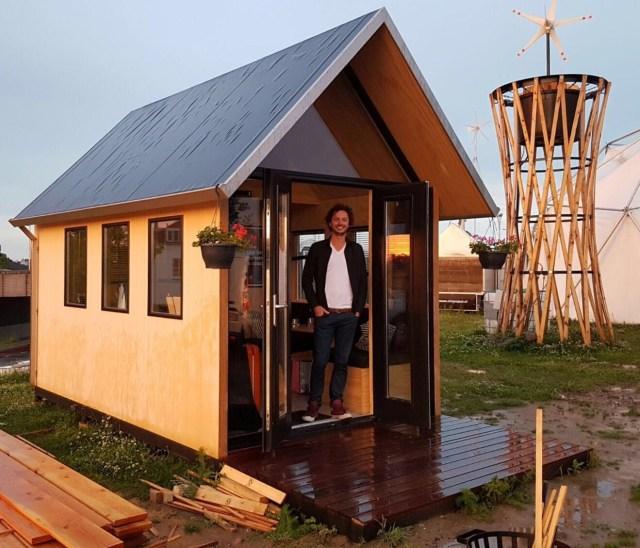 Tiny Houses Nijmegen | picture: Ward Boeijen boeijenjong.nl