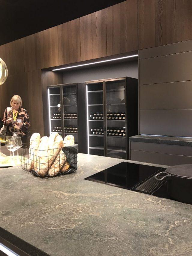 Leicht | Living Kitchen | Jan 2019 | Trend spotted by C-More interior design blog
