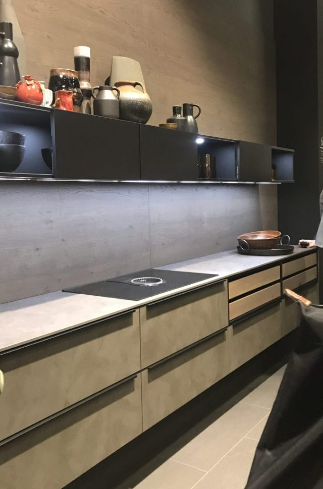 Nolte | Living Kitchen | Jan 2019 | Trend spotted by C-More interior design blog