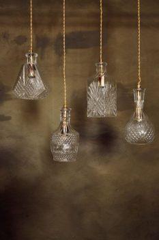 Glazen lampen klassiek