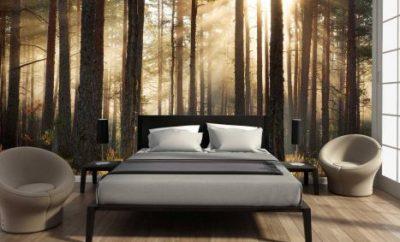 behang ideeën slaapkamer