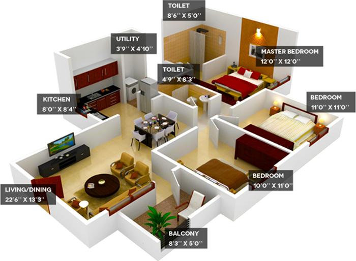best interior in kolkata