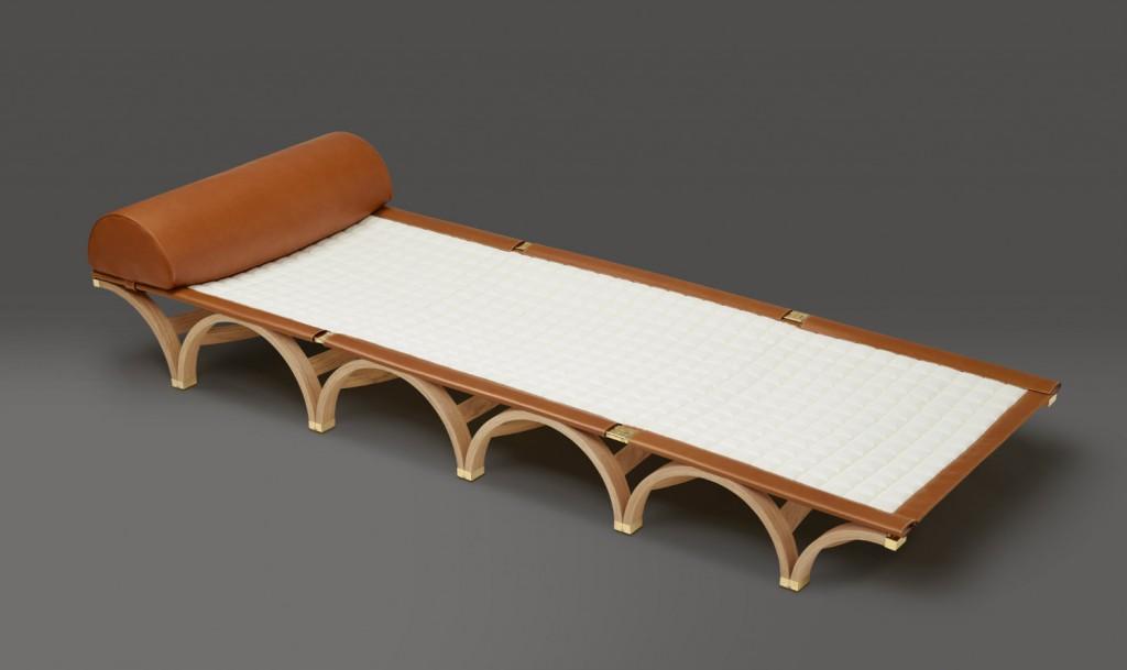 Cama 'Ernest', diseño de Gwenael Nicolas para Louis Vuitton. Fotografía: cortesía Louis Vuitton Malletier.