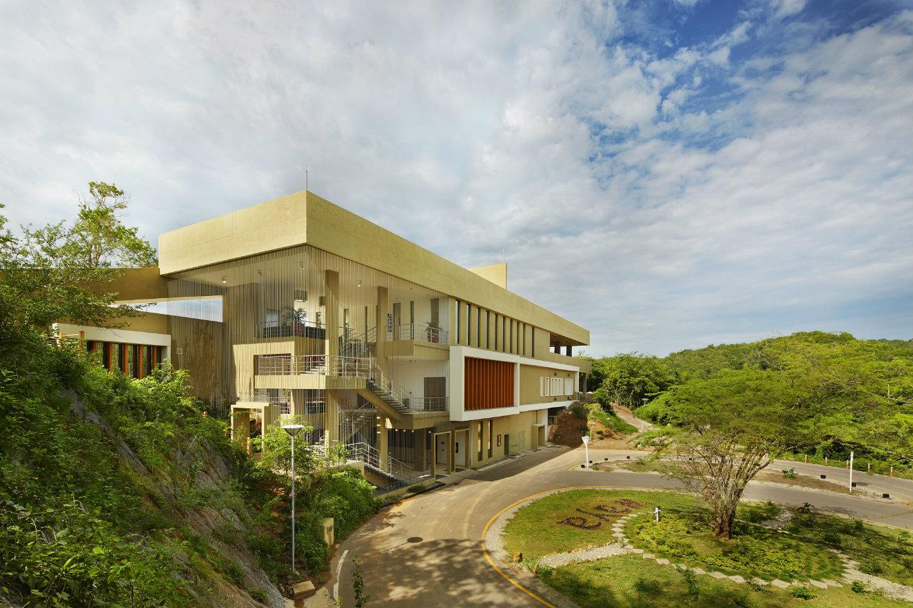 Área de acceso al hotel Waya Guajira. Fotografía: cortesía, OxoHotel.