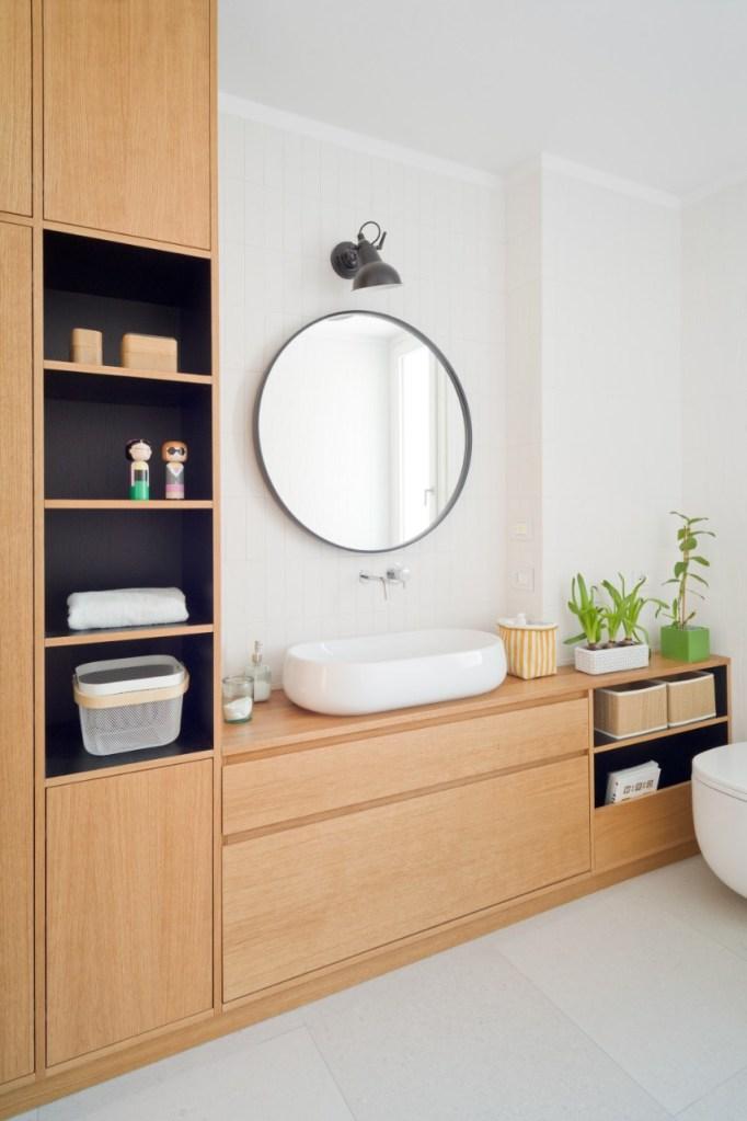 Baño principal, diseño de Deferrari+Modesti