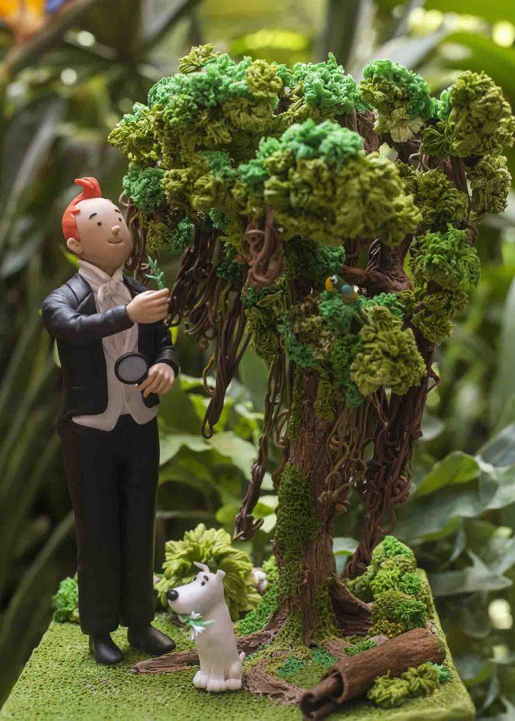 Escultura Tintin Humboldt