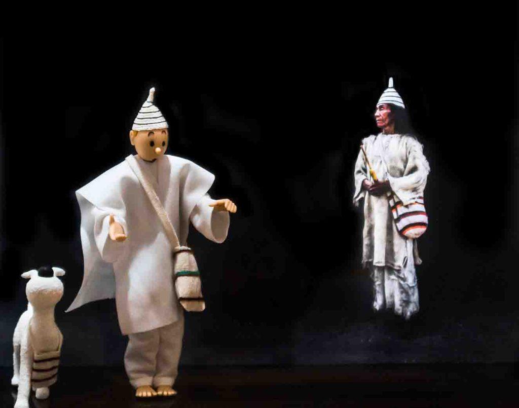 Los guardianes de la armonía. Artistas: Gabriel Ortega - Daniel Estrada.