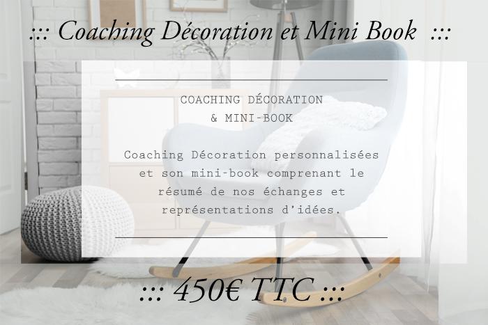 Coaching Décoration et mini book dans le Gers, Tarifs, entretien en face à face et book déco personnalisé