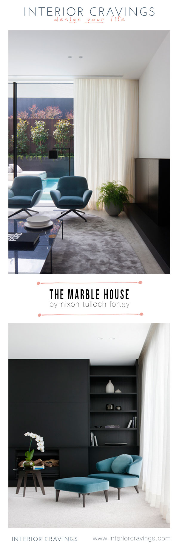 the marble house by nixon tulloch fortey interior design