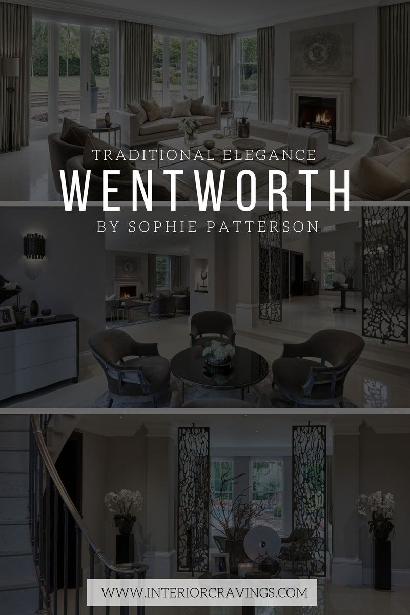 INTERIOR CRAVINGS SOPHIE PATTERSON traditional elegance home decor Wentworth