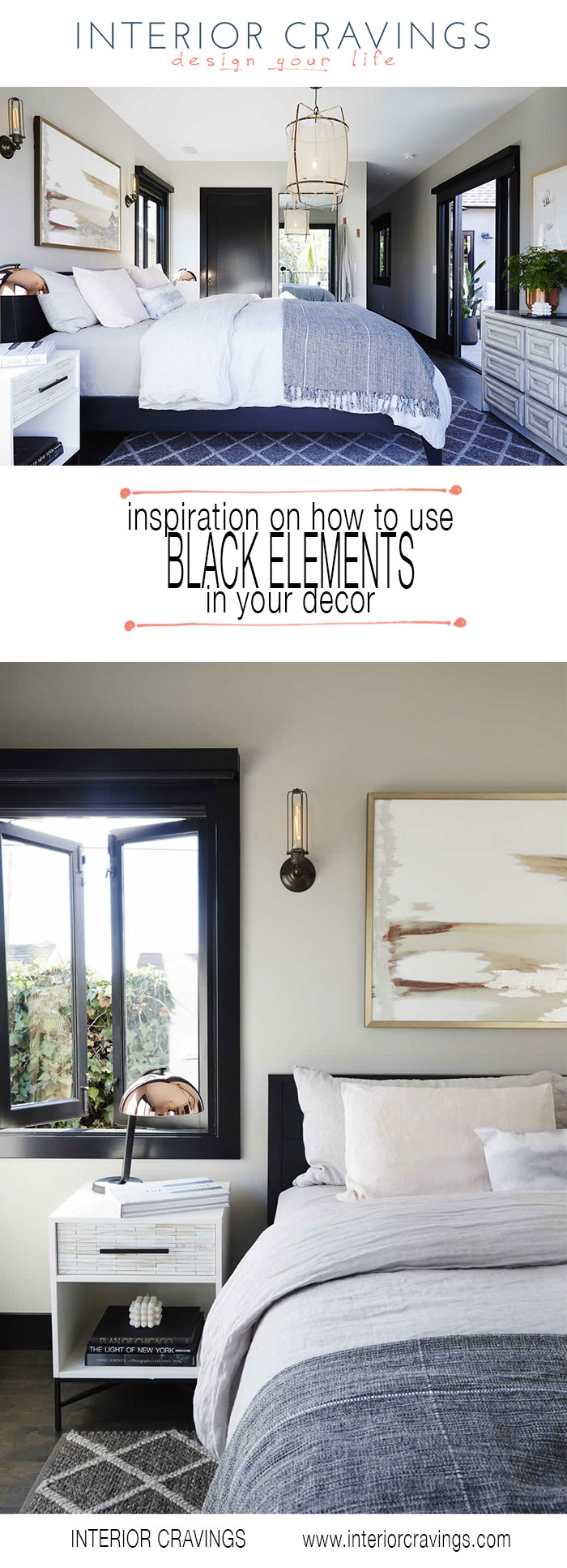interior cravings how to use black elements in your decor bedroom showcase
