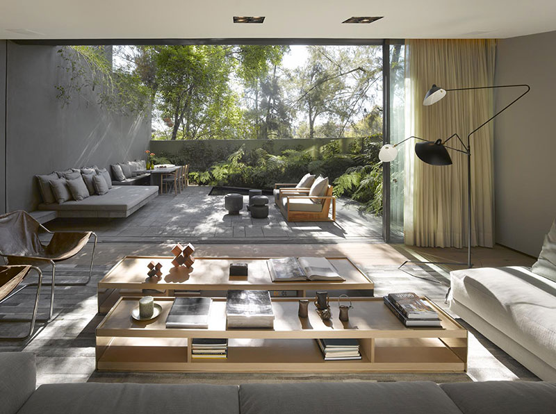 Great Interior Cravings Modern Interior Design That Incorporate Tropical Elements  Living Room 2 Casa Barrancas Ezequiel Farca Nice Design