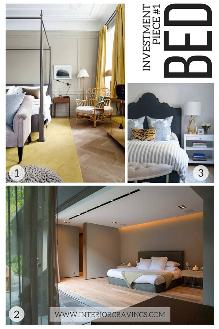 interior cravings - investment pieces in interior design bed