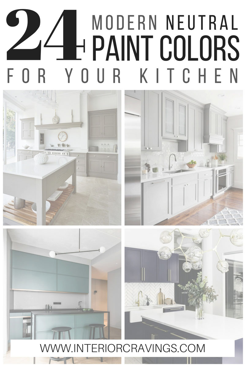 24 modern neutral paint colors for your kitchen remodel for Best neutral paint colors for home