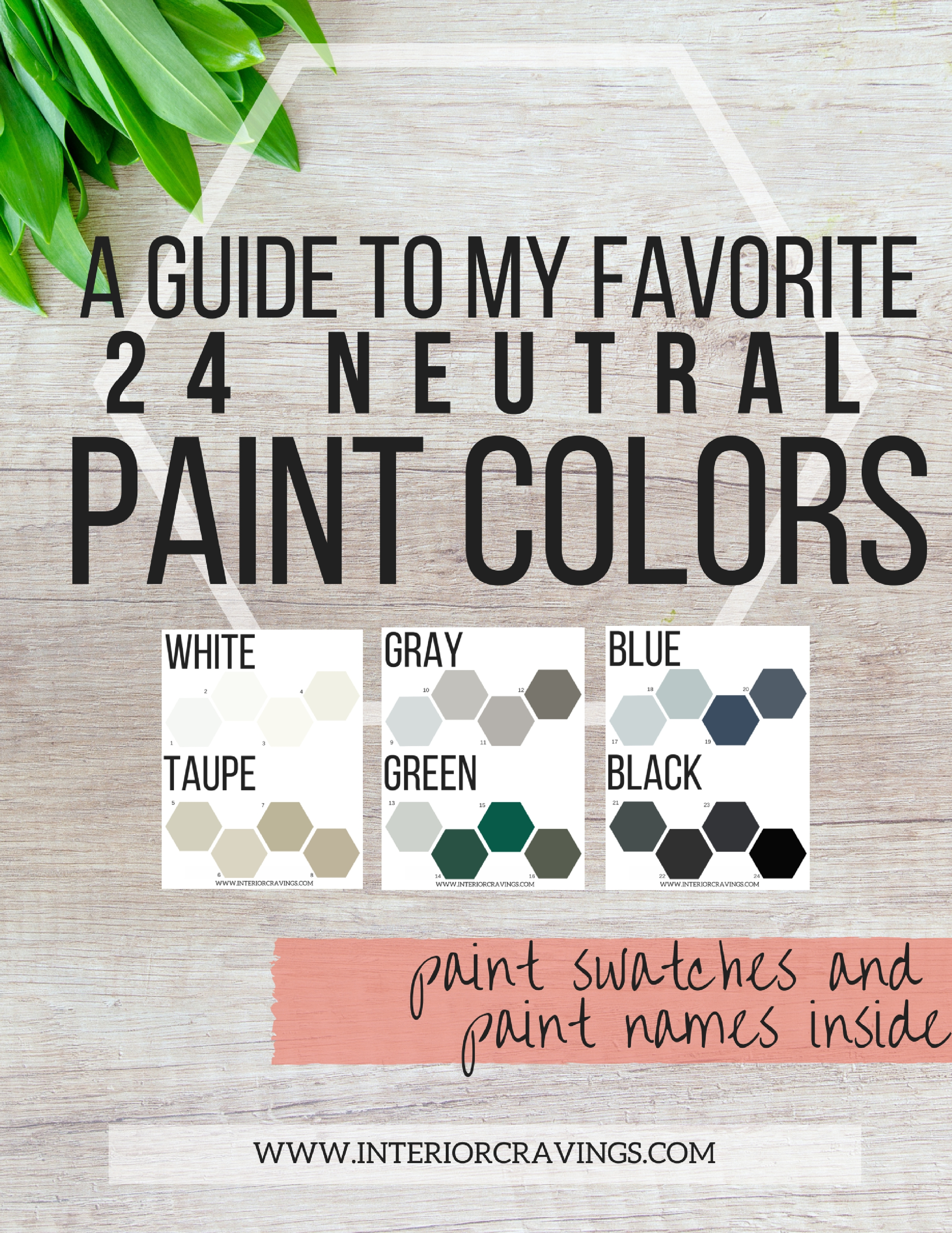 my favorite 24 neutral paint colors interior cravings