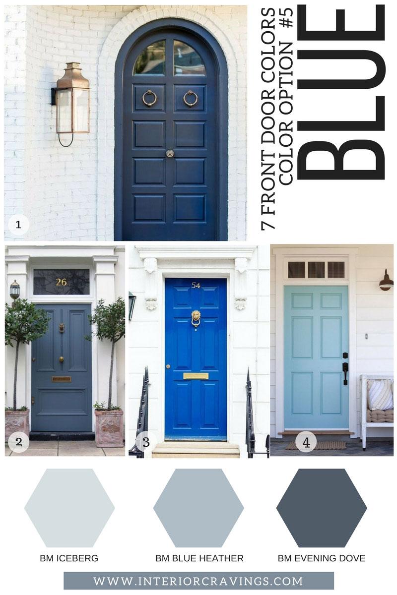Doors Painted Blue Amp Blue Door Ideas Behr Dragonfly