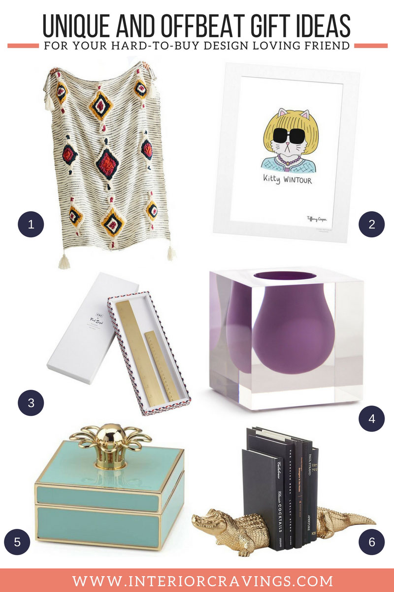 INTERIOR CRAVINGS unique and offbeat gift ideas for hard to buy design loving friends THE GIFT GUIDE 2
