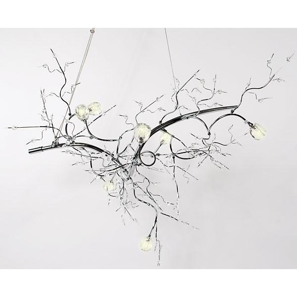 Crystal Branch Chandelier