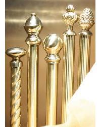 brass curtain rods interiordecorating com