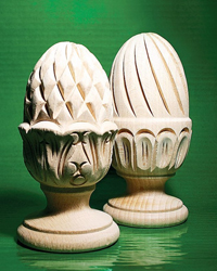 wood curtain rods hardware